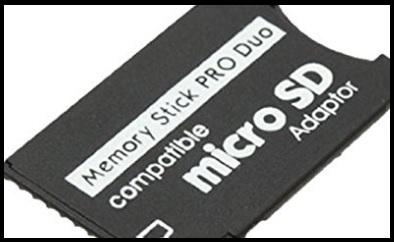 Micro sd pro duo adattatore convertitore