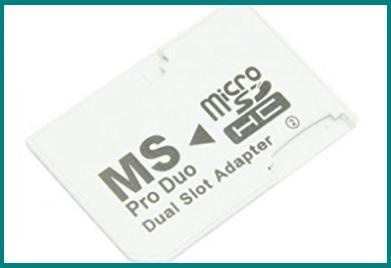 Memory stick adapter sd