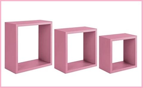 Mensole Cubo Rosa