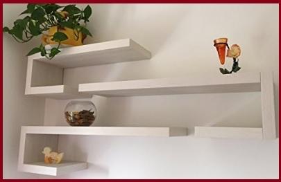 Mensole design soggiorno