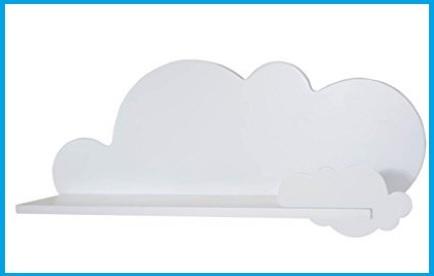 Mensole nuvola cameretta
