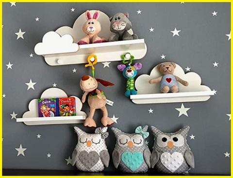 Mensole nuvola per bambini