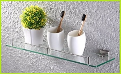 Mensole vetro design