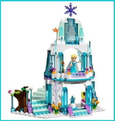 Il castello di frozen dei lego