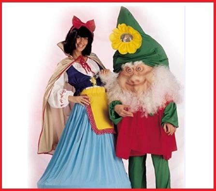 Costume Carnevale Biancaneve E Nano