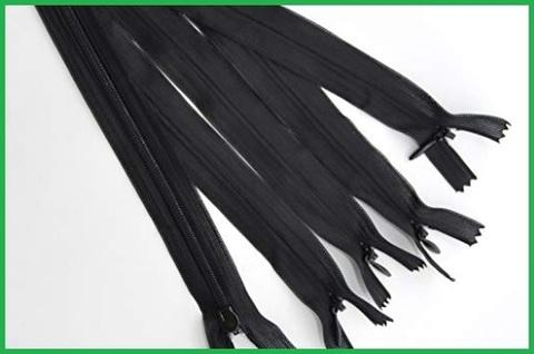 Cerniera invisibile nera