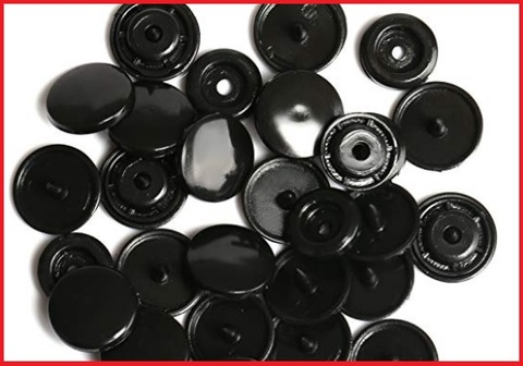 Bottoni a pressione plastica grandi