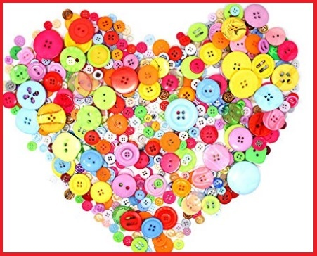 Bottoni colorati merceria