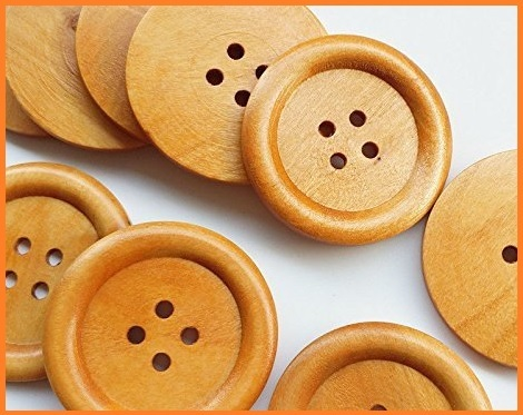 Bottoni legno grandi
