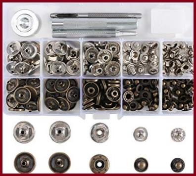 Bottoni automatici a pressione metallo