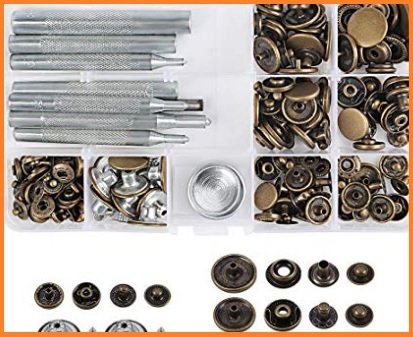 Bottoni automatici metallo