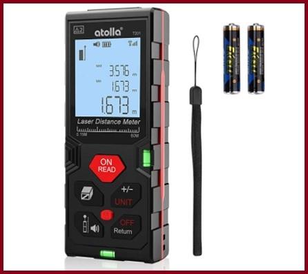 Telemetro laser distanziometro con display lcd