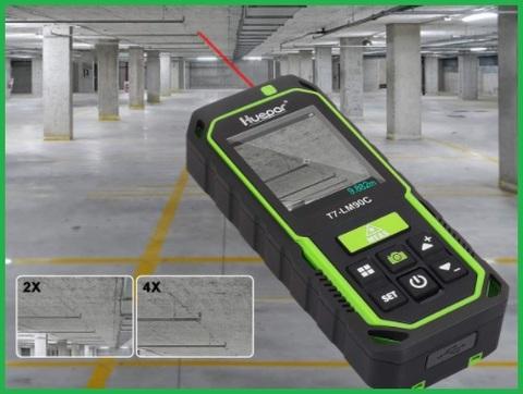 Distanziometro laser telecamera