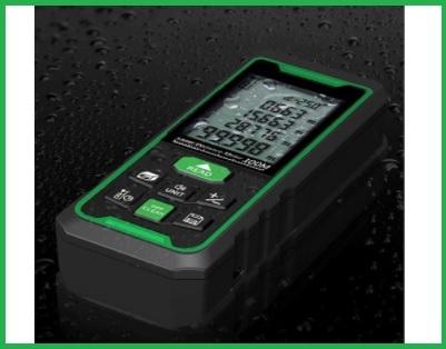 Metro laser 100m impugnatura portatile