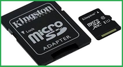 Scheda Micro Sd Da 256 Gb Adattatore Sd