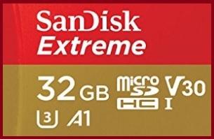 Micro Sd 32 Gb 4k Con Adattatore