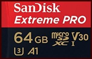 Sandisk Extreme Pro 64 Gb