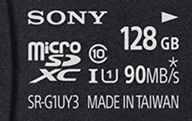 Sony Micro Sd Classe 10 128 Gb