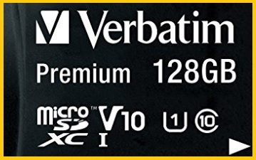 Micro Sd Verbatim 128 Gb Classe 10