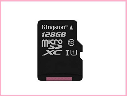 Micro sd kingston 128 gb