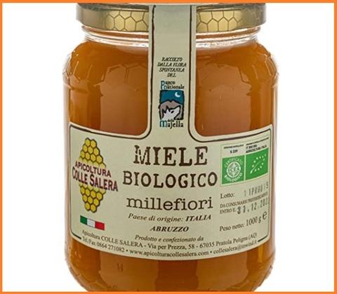 Miele biologico italiano millefiori