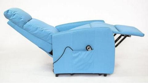 Poltrone relax elettrica alzapersona con poggiapiedi