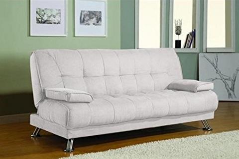 Divano moderno e reclinabile trasformabile in letto