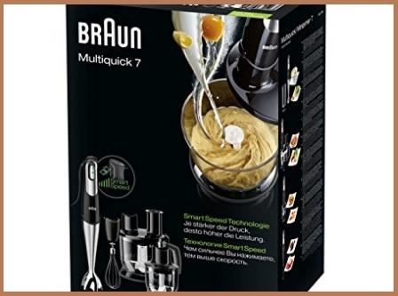 Minipimer Braun 7