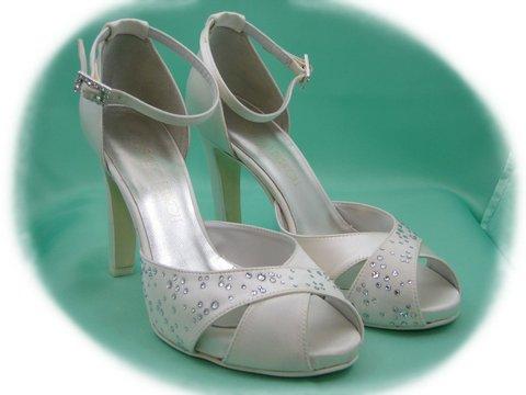 Sandalo Sposa Tacco 10