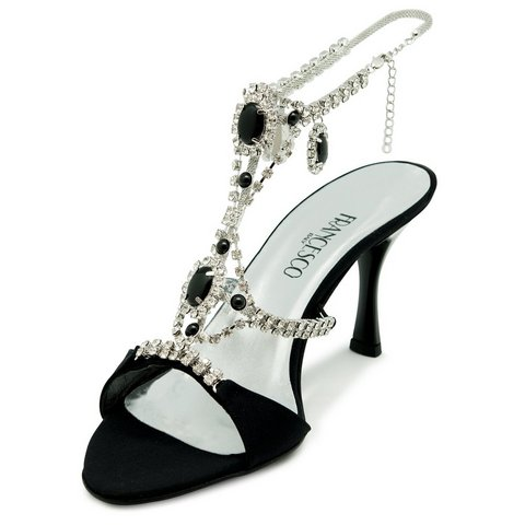 Sandalo elegante in vera pelle