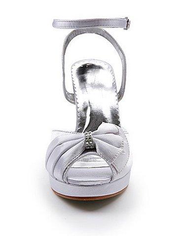 Sandalo Sposa Con Tacco A Spillo