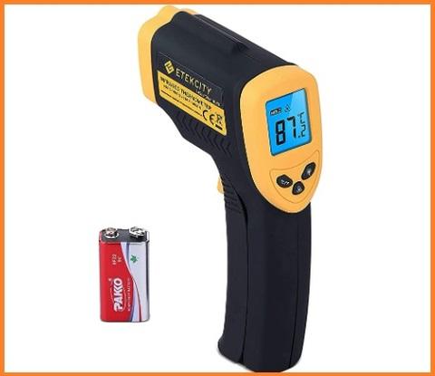 Misurazione gradi termometro