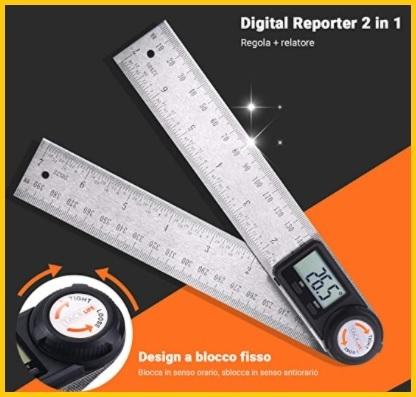 Misurazione grado goniometro