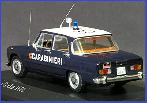 Modellismo carabinieri in scala