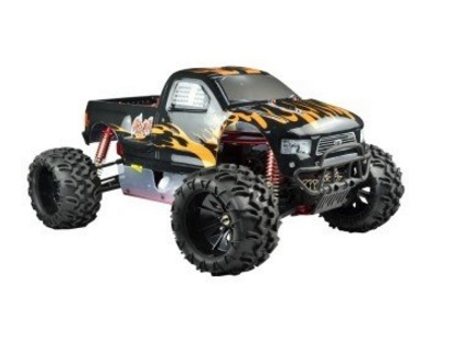 Monster Truck Radiocomandato Con Motore A Scoppio