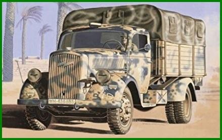 Camion militare opel blitz