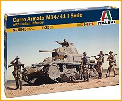 Carro armato italiano modellismo statico