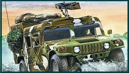 Modellismo camion militare