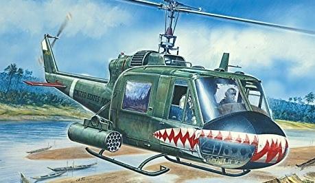 Modellismo elicottero militare