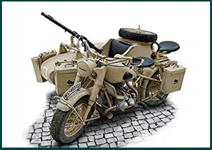 Moto modellismo militare