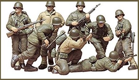 Soldati militari modellismo