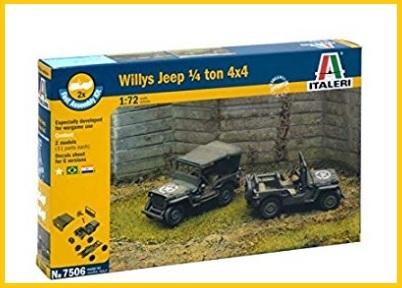 Jeep militare modellino