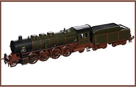 Modellismo ferroviario, treni a vapore