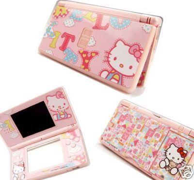 Nintendo Ds Lite Hello Kitty Version