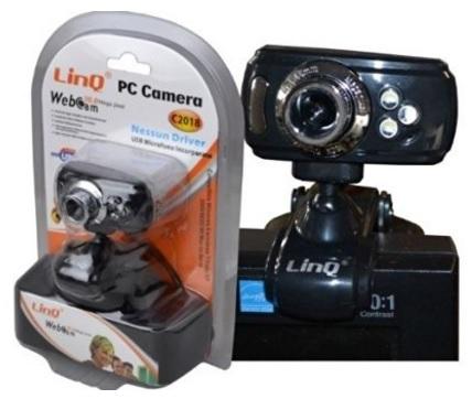 Webcam 1.3 Mpx Argento