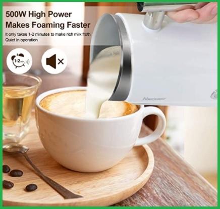 Montalatte elettrico cappuccino