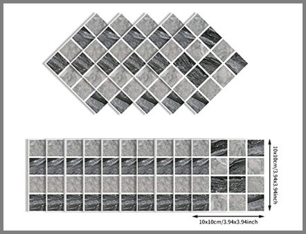 Mosaico Adesivo Vetro