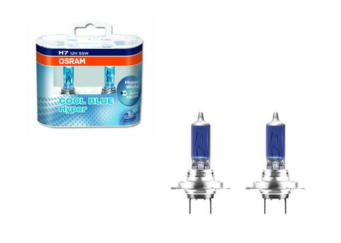 Osram 5000k - H7 - Cool Blue Hyper