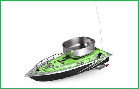 Motoscafo radiocomandato da pesca
