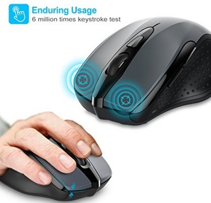 Mouse Wireless Ricaricabile